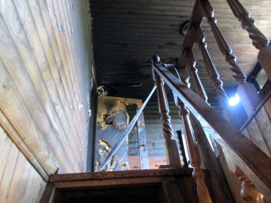 В Кривушах Кременчугского района горел дачный дом (ФОТО) (фото) - фото 1