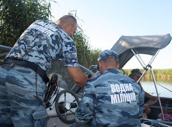 Кременчугская водная милиция провела рейд-проверку в заповедной зоне (ФОТО) (фото) - фото 1