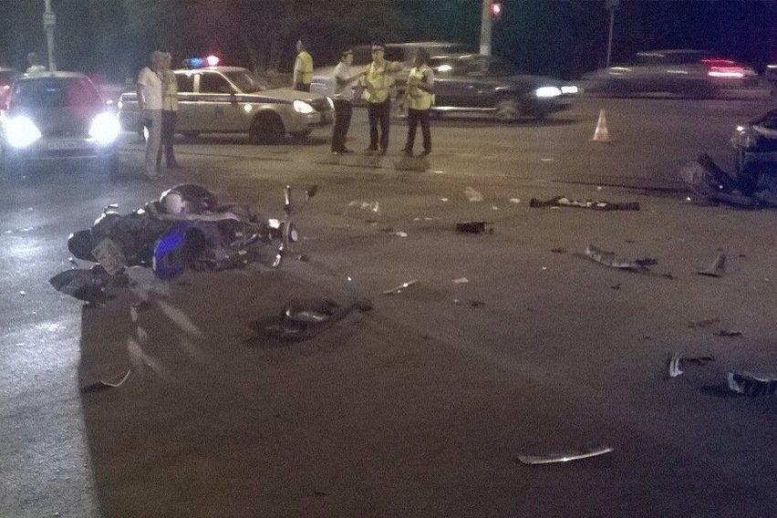 В Белгороде в ДТП погиб московский мотоциклист (фото) - фото 1