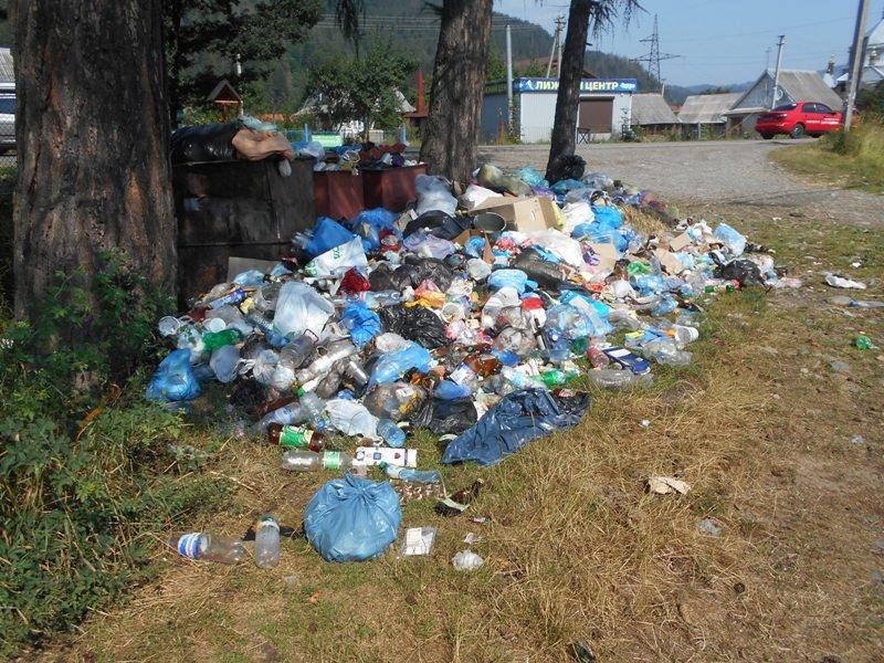 Карпатські села засипають сміттям (фото) - фото 2