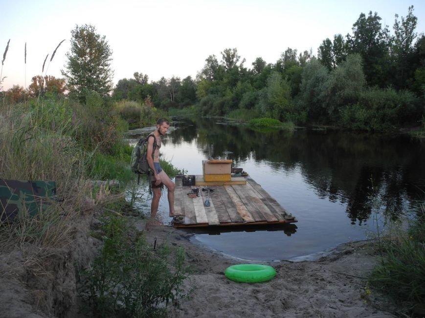 В Днепропетровске отчаянные экстремалы сплавились на плотах по Орели (ФОТО), фото-5