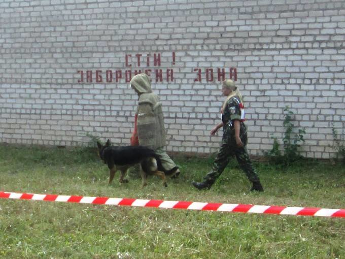 Младший инспектор-кинолог Криворожской колонии №80 и его пес Арчибальт стал лучшим на  Днепропетровщине (ФОТО) (фото) - фото 1
