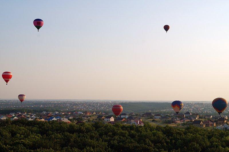 Над «Под дубом». В Белгороде завершился аэрофестиваль «Небосвод Белогорья» (фото) - фото 1