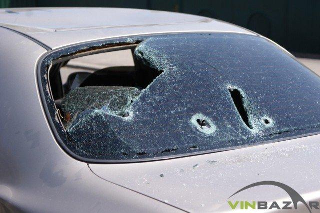 У Вінниці розстріляли автомобіль. Двоє чоловіків у лікарні (Фото+Відео), фото-2