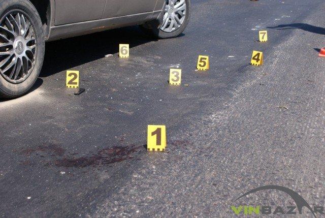 У Вінниці розстріляли автомобіль. Двоє чоловіків у лікарні (Фото+Відео), фото-4