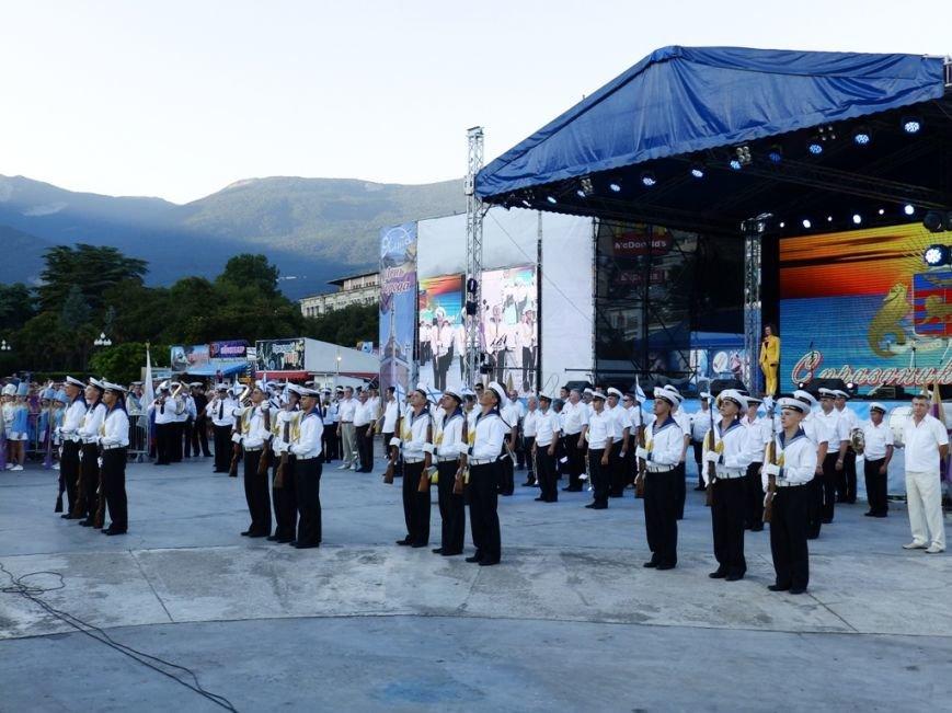 В рамках празднования Дня города в Ялте прошёл Парад духовых оркестров (20)