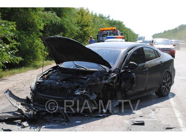 В ДТП в Мелитополе пострадало 7 человек, в том числе грудной ребенок (ФОТО, ВИДЕО) (фото) - фото 1