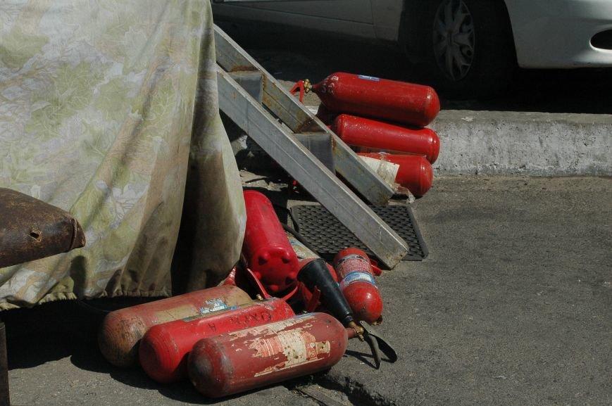 Масштабный пожар на запорожской автостоянке: пострадали 6 автомобилей (ФОТО), фото-8