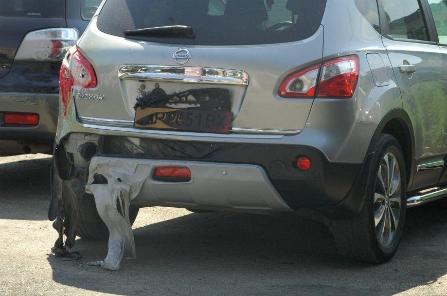 Масштабный пожар на запорожской автостоянке: пострадали 6 автомобилей (ФОТО), фото-3