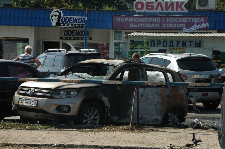 Масштабный пожар на запорожской автостоянке: пострадали 6 автомобилей (ФОТО), фото-9