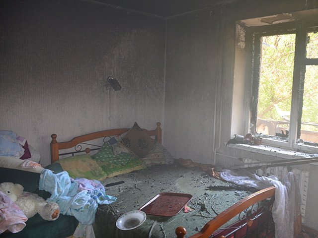 В Николаеве горела многоэтажка на Чкалова: в квартире был заперт ребенок (ФОТО), фото-4