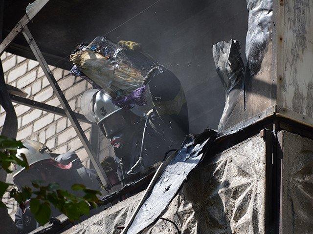 В Николаеве горела многоэтажка на Чкалова: в квартире был заперт ребенок (ФОТО), фото-2