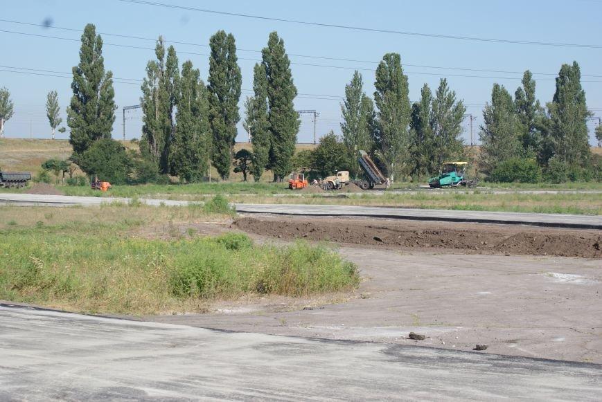 В Днепродзержинске завершается реконструкция картодрома, фото-1