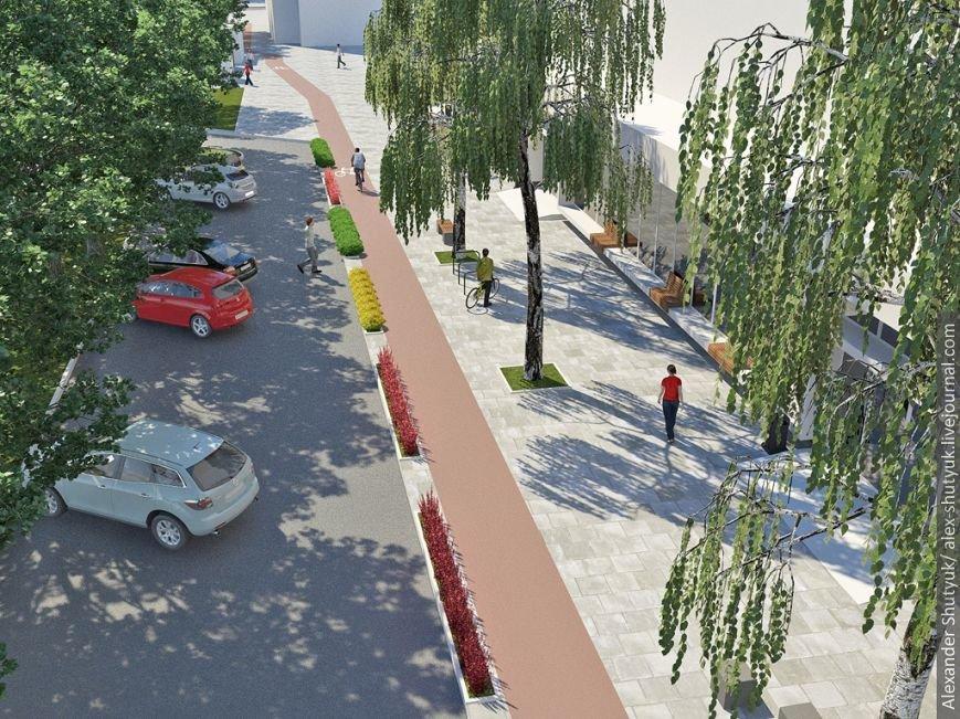 Як облаштувати проспект Чорновола? Візуалізація (фото) - фото 7
