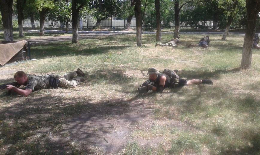«Азов» продолжает тренироваться на базах в Мариуполе (ФОТО), фото-2