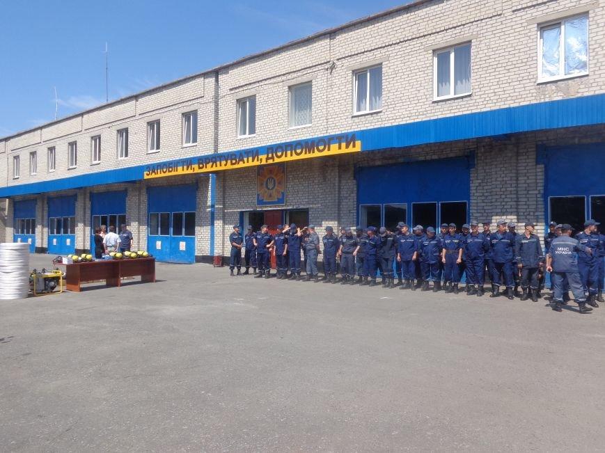 Пожарные Красноармейска и Димитрова получили новое оснащение из Германии (фото) - фото 2