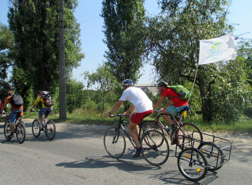 Учасники благодійного велопробігу «Захід-Схід» прибули на Полтавщину (фото) - фото 1