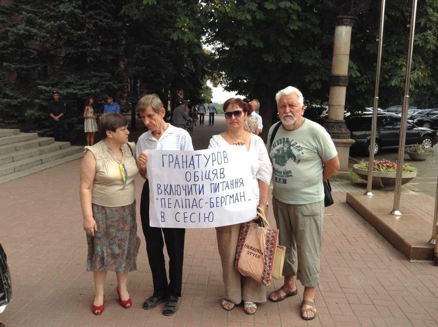 Николаевцы вышли на митинг против самозастроев (ФОТО), фото-6