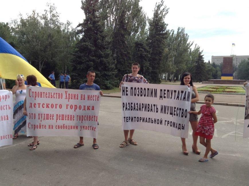Николаевцы вышли на митинг против самозастроев (ФОТО) (фото) - фото 4