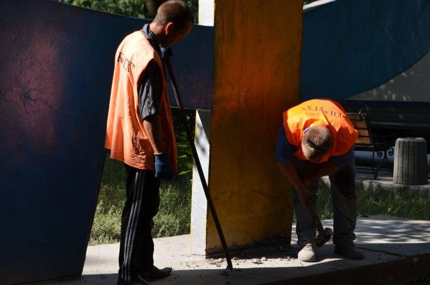 В Красноармейске сносят серп и молот (ОБНОВЛЕНО), фото-7