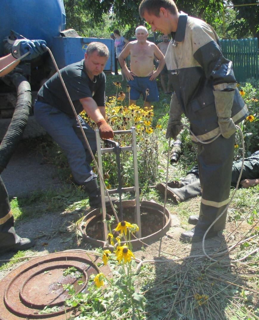 В кременчугском районе двое мужчин задохнулись в канализационном коллекторе (фото), фото-1
