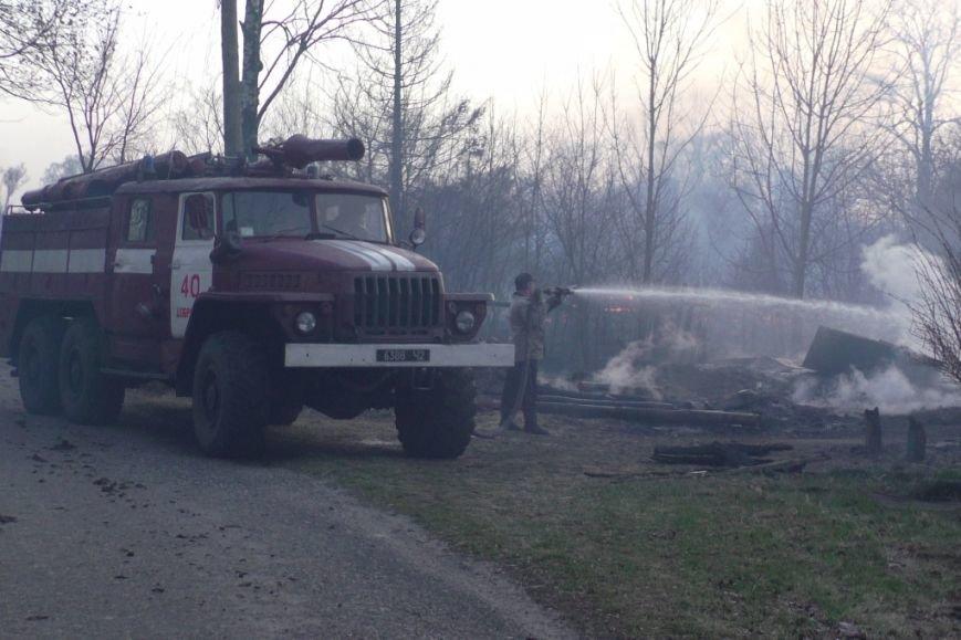 В Черниговской области едва не сгорело целое село (фото) - фото 1