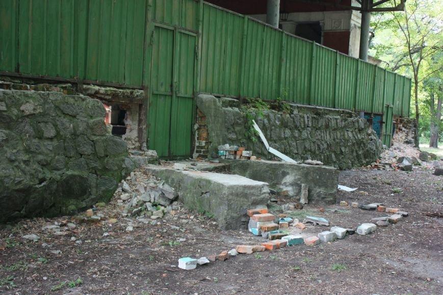 Парк имени Котлова, что в Крюкове, разрушают неизвестные, переодевшись в коммунальщиков, фото-3