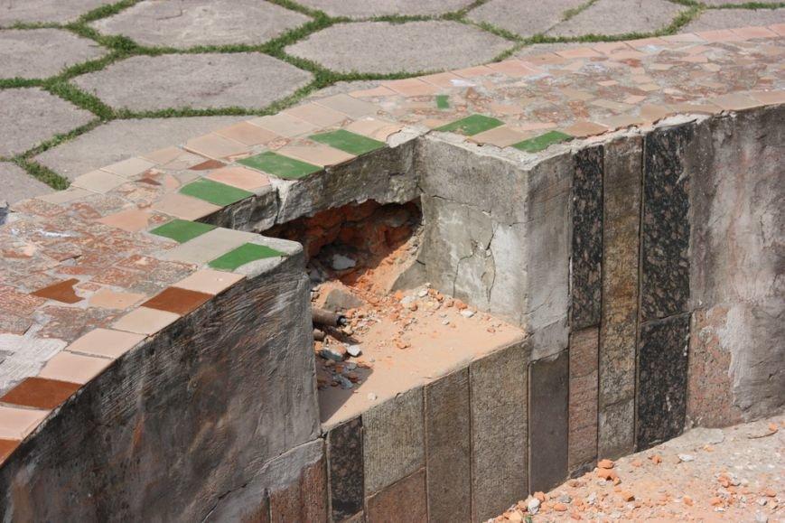 Парк имени Котлова, что в Крюкове, разрушают неизвестные, переодевшись в коммунальщиков, фото-5