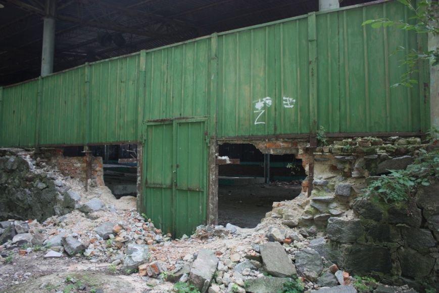 Парк имени Котлова, что в Крюкове, разрушают неизвестные, переодевшись в коммунальщиков, фото-6
