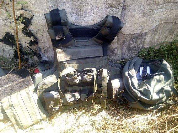 На Полтавщине милиция нашла тайник с боеприпасами и военным обмундированием (ФОТО) (фото) - фото 1