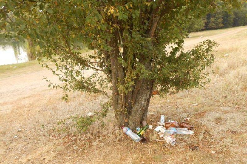 Отдыхающие превратили Симферопольское водохранилище в свалку (ФОТО) (фото) - фото 10