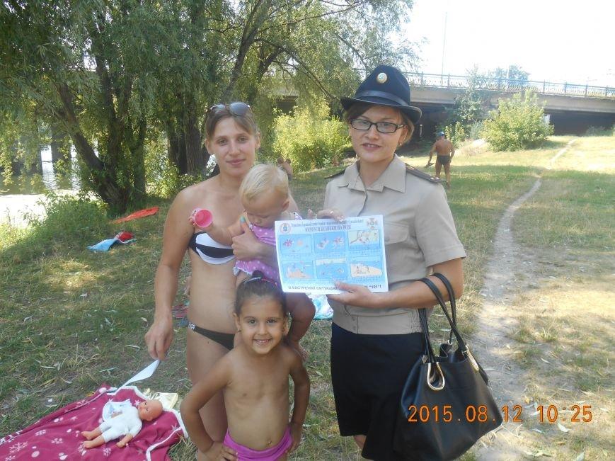 На пляжах Сум рассказывали про правила поведения на воде (ФОТО) (фото) - фото 1