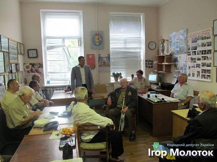 Игорь Молоток провел личный прием граждан в Конотопе, фото-1