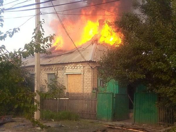 В результате обстрела Донецка погиб один мирный житель (ФОТО) (фото) - фото 3