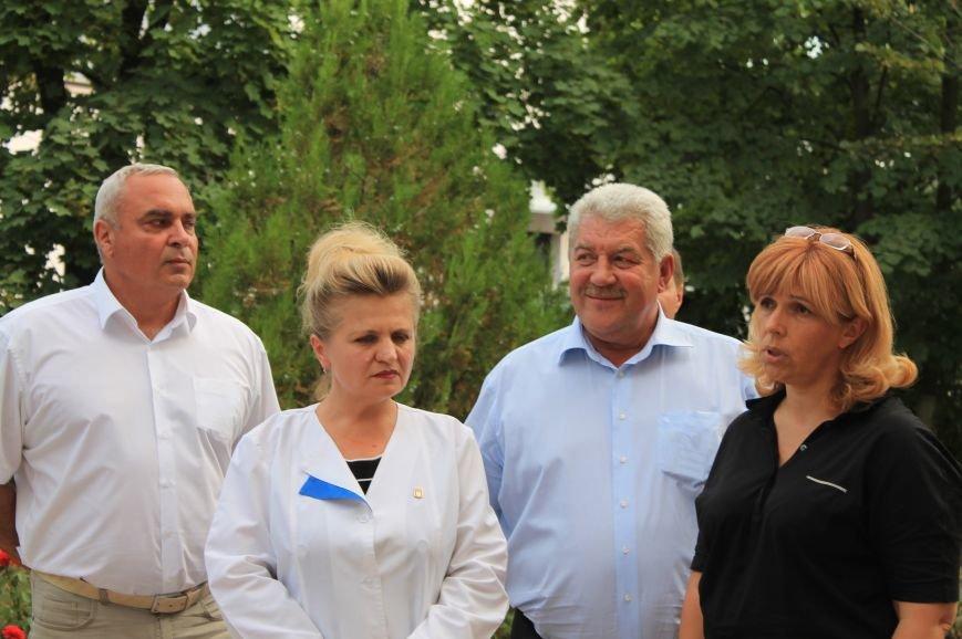 Артемовские медики встретились с Ольгой Богомолец, фото-1