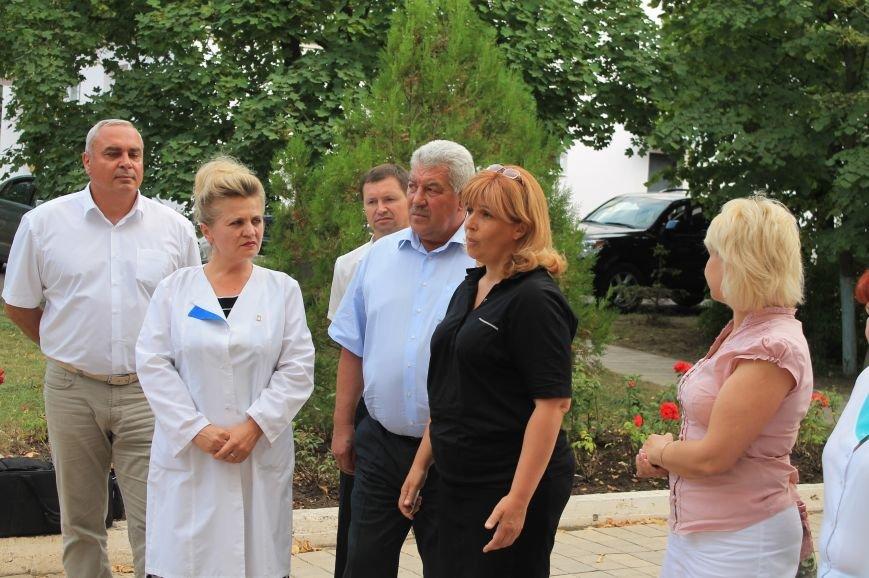 Артемовские медики встретились с Ольгой Богомолец, фото-2