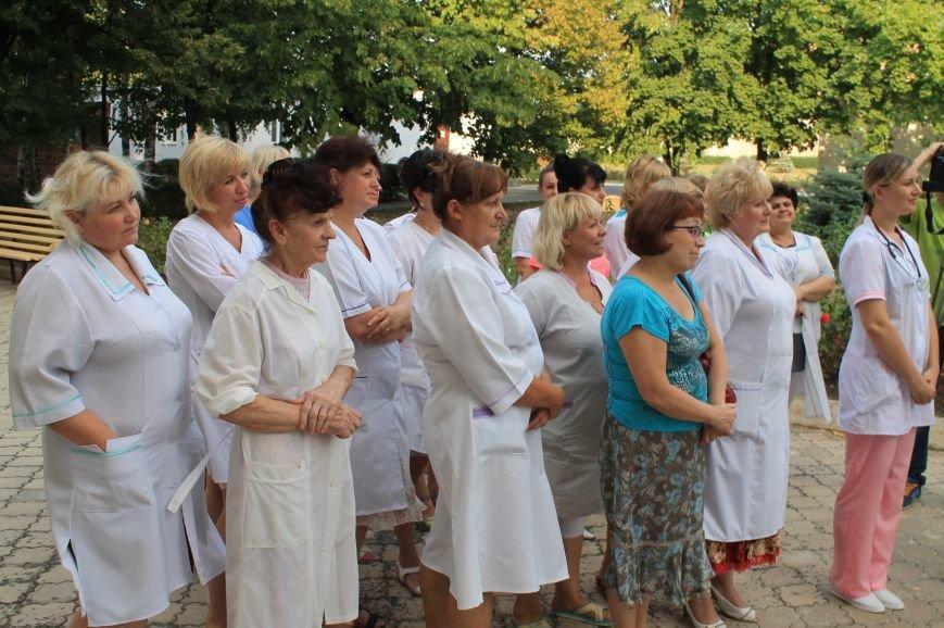 Артемовские медики встретились с Ольгой Богомолец, фото-3
