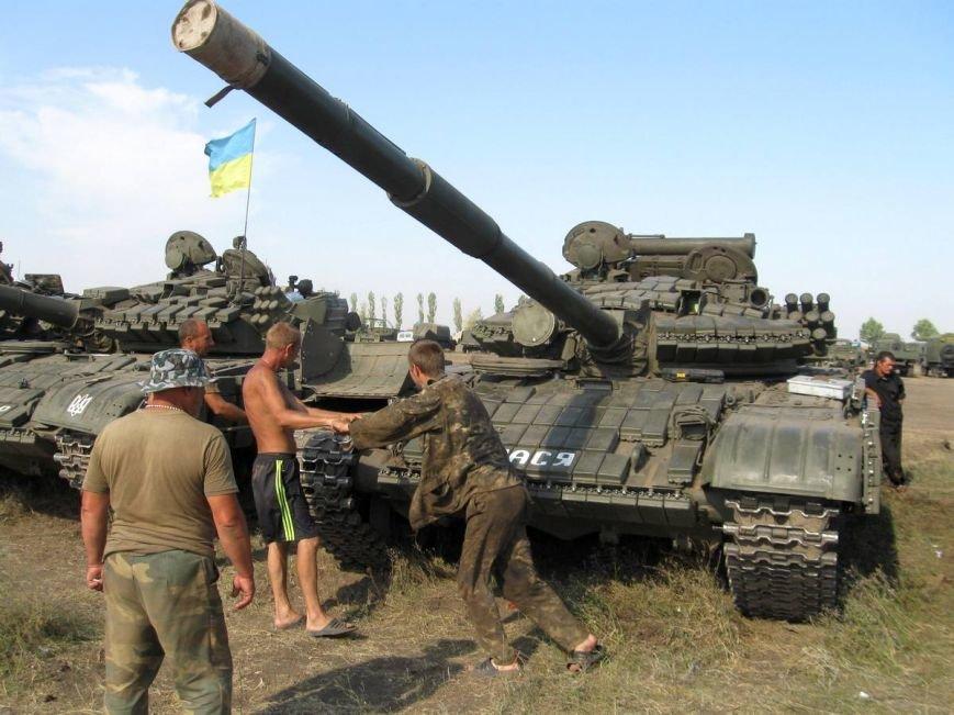Николаевские новобранцы отстрелялись на полигоне (ФОТОРЕПОРТАЖ) (фото) - фото 1