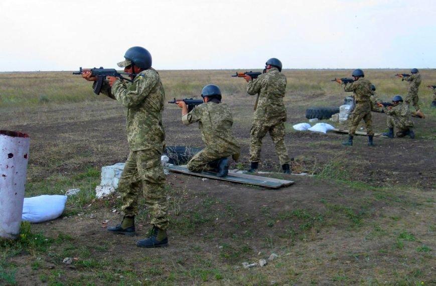Николаевские новобранцы отстрелялись на полигоне (ФОТОРЕПОРТАЖ) (фото) - фото 2