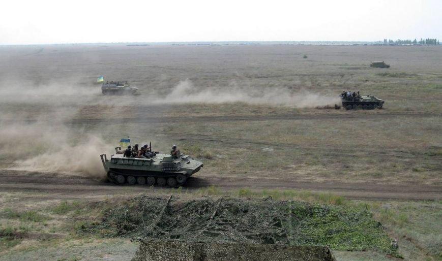 Николаевские новобранцы отстрелялись на полигоне (ФОТОРЕПОРТАЖ) (фото) - фото 4