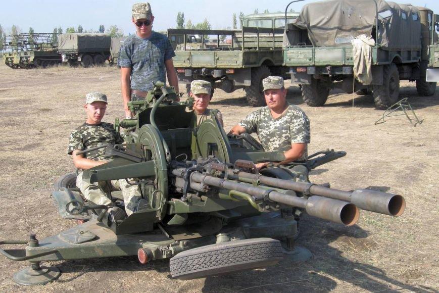 Николаевские новобранцы отстрелялись на полигоне (ФОТОРЕПОРТАЖ) (фото) - фото 3