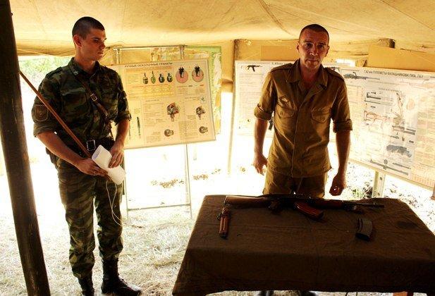 В Луганске «народная милиция ЛНР» открыла учебный центр для боевиков (ФОТО) (фото) - фото 1