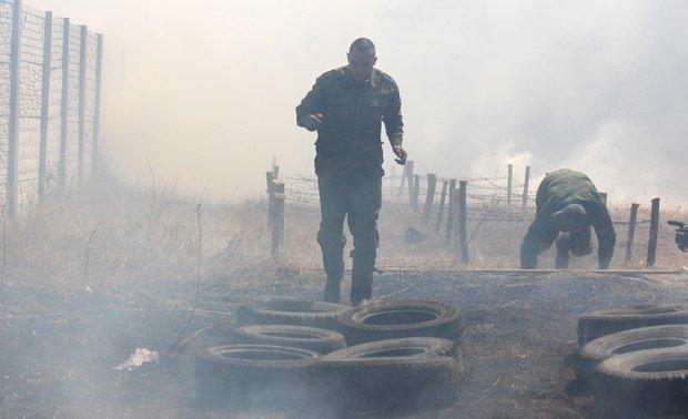 В Луганске «народная милиция ЛНР» открыла учебный центр для боевиков (ФОТО) (фото) - фото 4