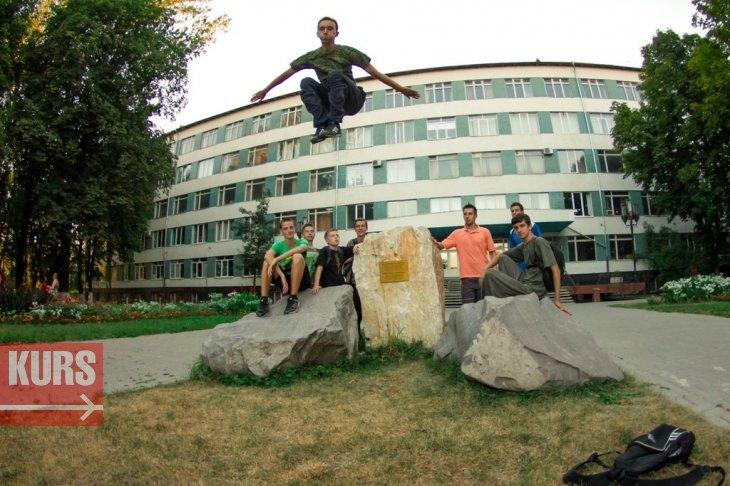 В Івано-Франківську діє школа паркуру (ФОТО,ВІДЕО) (фото) - фото 1