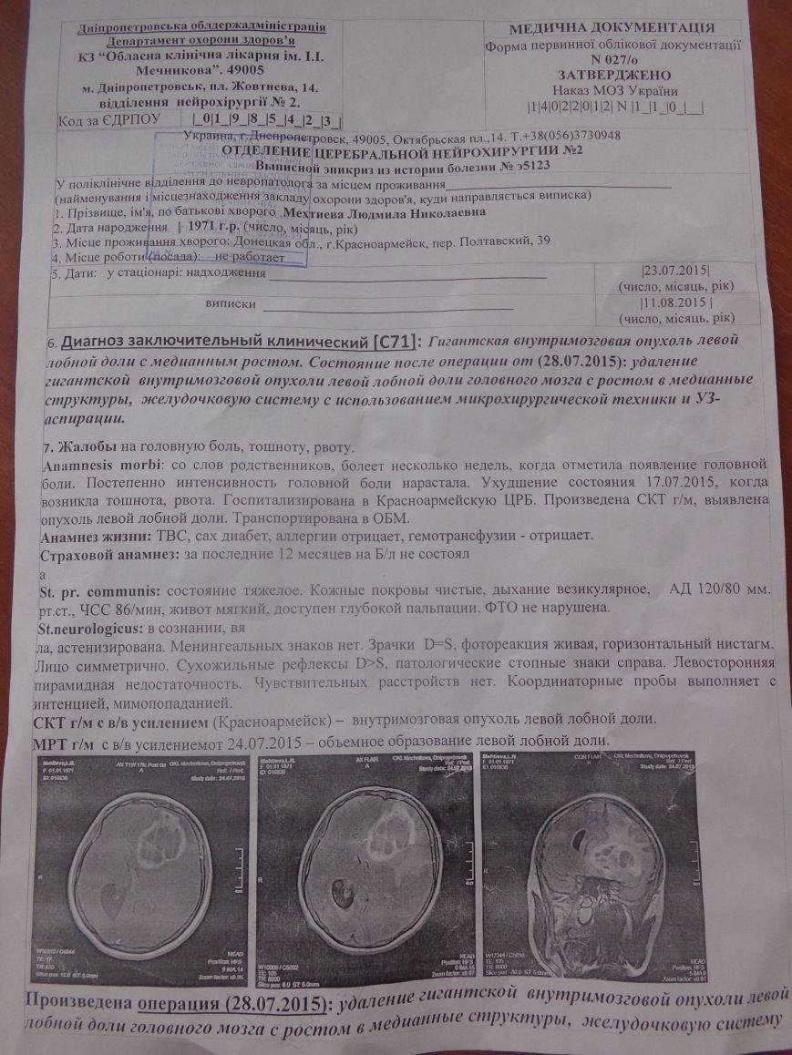 Жительница Красноармейска нуждается в срочной помощи! (фото) - фото 2