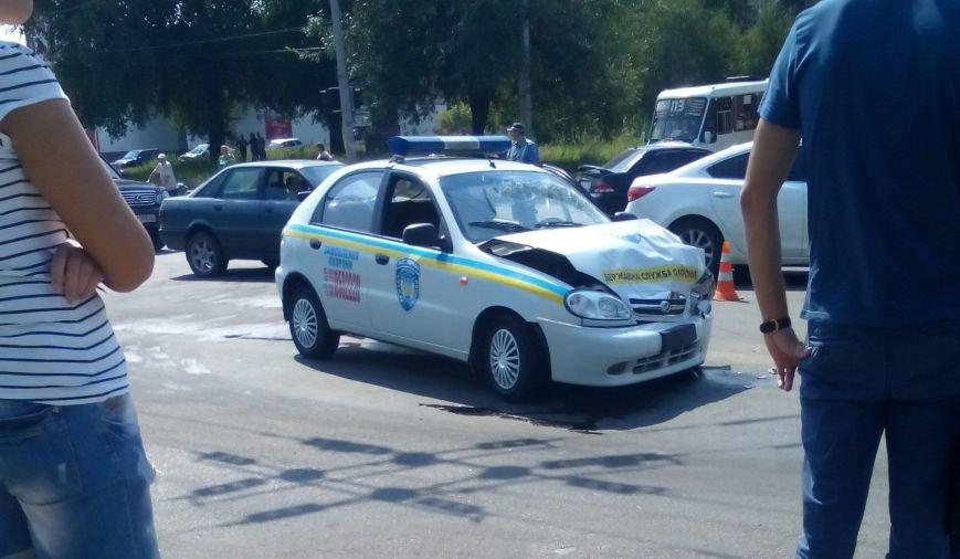 В Кировограде произошло ДТП с участием милицейского автомобиля (ФОТО), фото-1