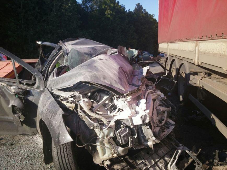 Ульяновец спровоцировал страшную аварию под Уфой (фото) - фото 1