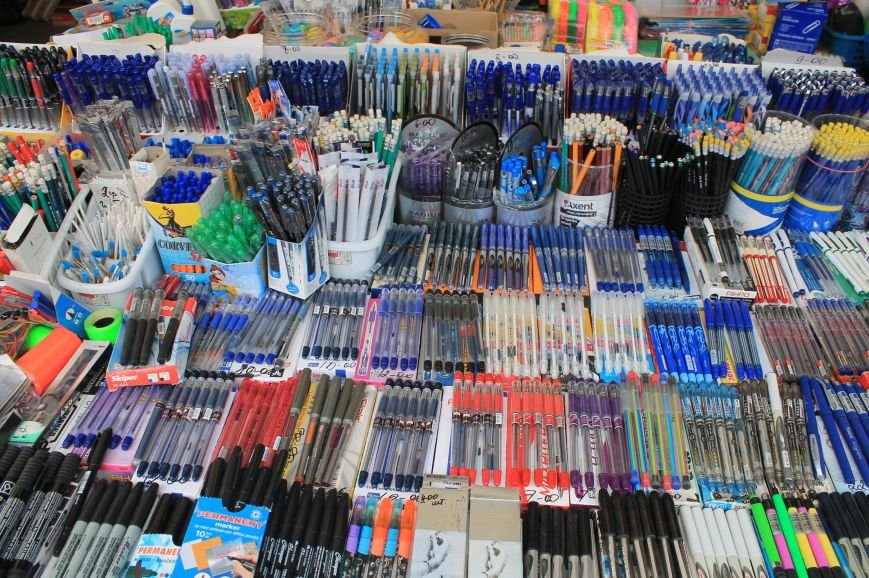 Школьный базар в Артемовске, фото-4