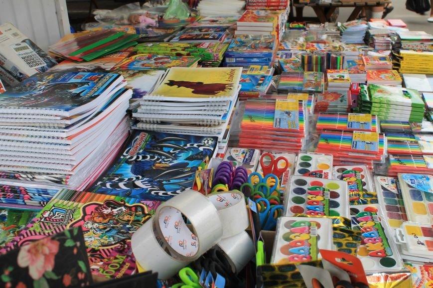 Школьный базар в Артемовске, фото-2