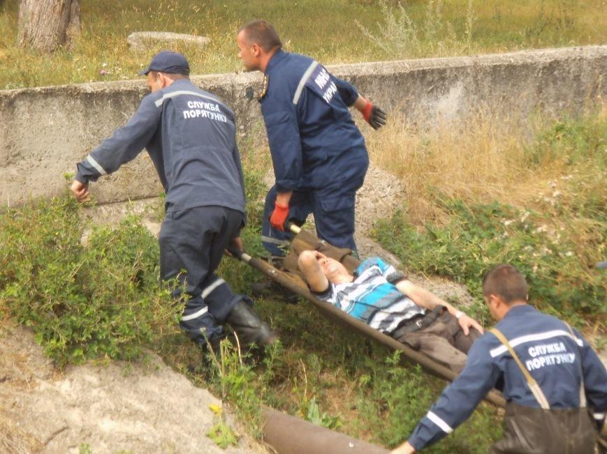 Упавший с моста краматорчанин отделался переломом ноги (фото) - фото 2